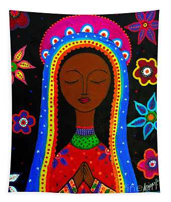 Virgen Guadalupe Tapestry