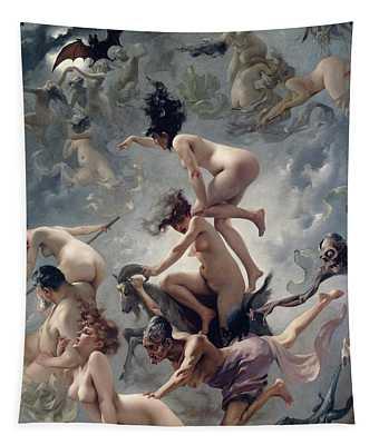 Vision De Faust Tapestry
