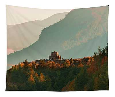 Vista House Tapestry