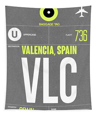 Vlc Valencia Luggage Tag II Tapestry