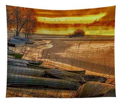 Wakey Wakey Tapestry