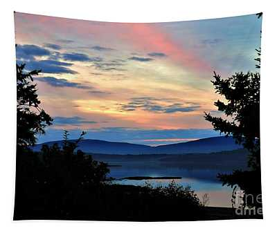 Tapestry featuring the photograph Waking Up In Maine by Patti Whitten