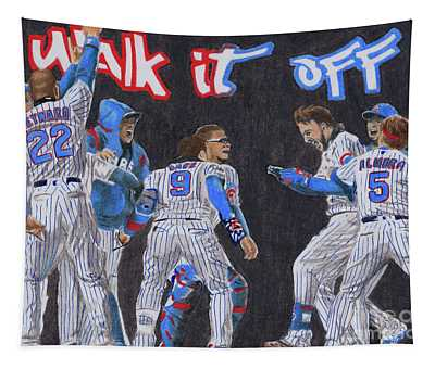 Walk It Off Tapestry