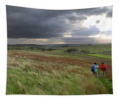 Walking Hadrian's Wall Tapestry