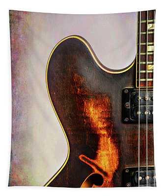 Wall Art Gibson Guitar Art 1744.31 Tapestry
