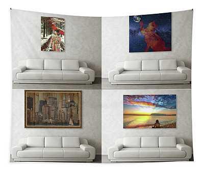 Wall Art Samples Tapestry