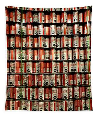 Wall Of Beer Tapestry