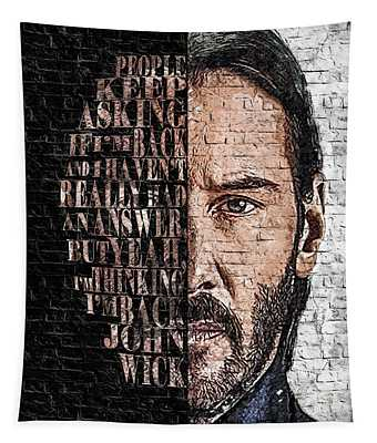 Wallart John Wick 3 Tapestry