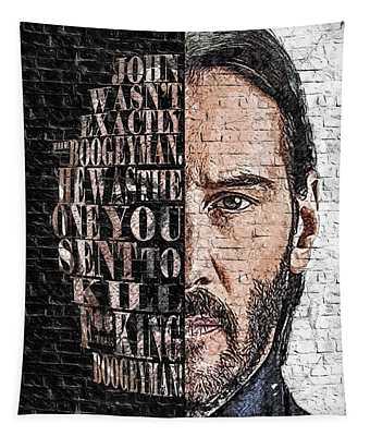 Wallart John Wick 5 Tapestry