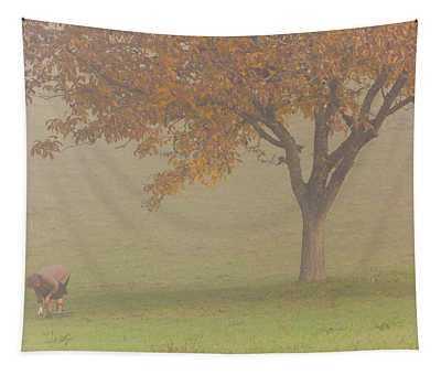 Walnut Farmer, Beynac, France Tapestry