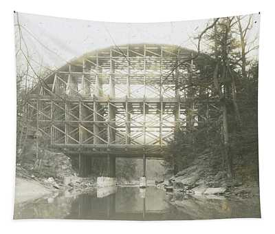 Walnut Lane Bridge Tapestry