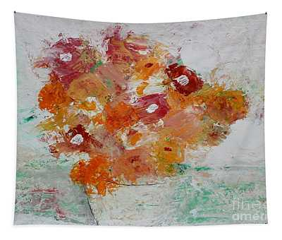 Warm Floral Tapestry