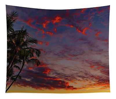 Warm Sky Tapestry