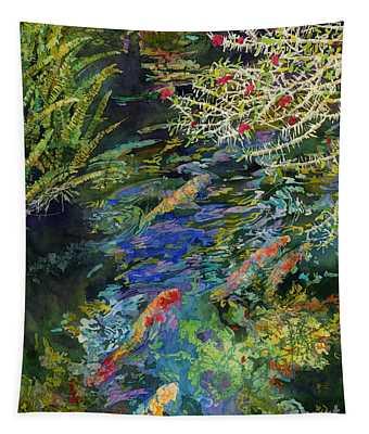 Water Garden Tapestry