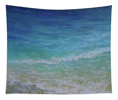 Water Lines Tapestry