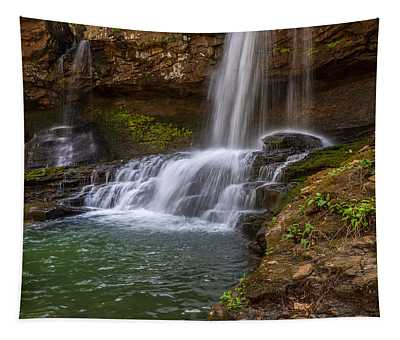 Waterfall At Cloudland Canyon State Park Tapestry