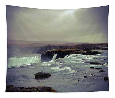 Waterfall Of The Gods Tapestry