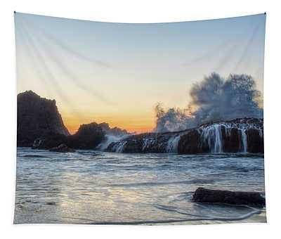 Wave Burst Tapestry