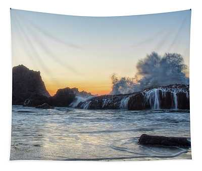 Wave Burst Tapestry