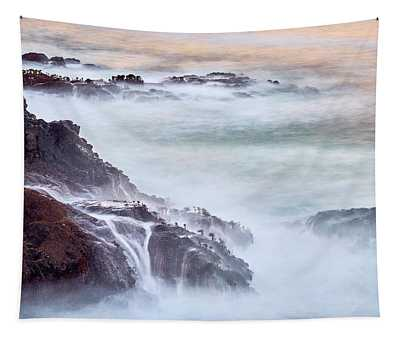 Tapestry featuring the photograph Wave Falls by Whitney Goodey