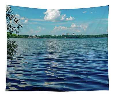Waves On Lake Harriet Tapestry