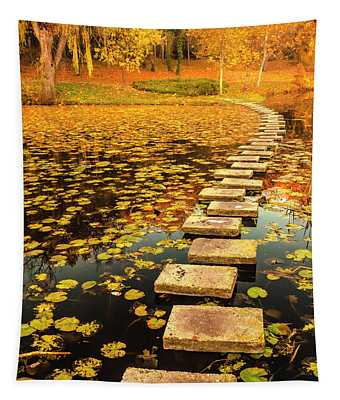 Way In The Lake Tapestry