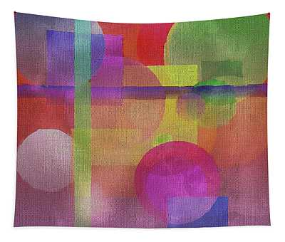 Weekender Tote Abstract Tapestry