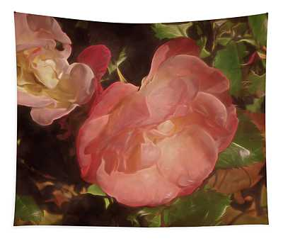Weeping Rose  Tapestry