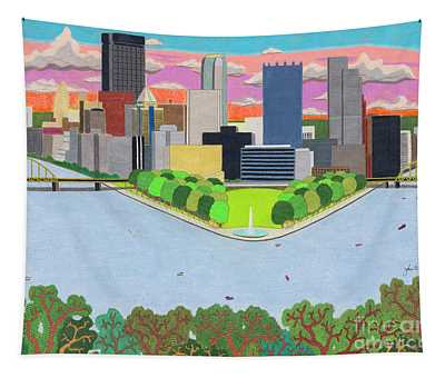 West End Overlook Tapestry
