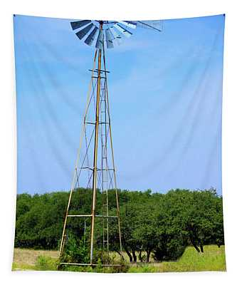 West Texas Windmill A9718 Tapestry