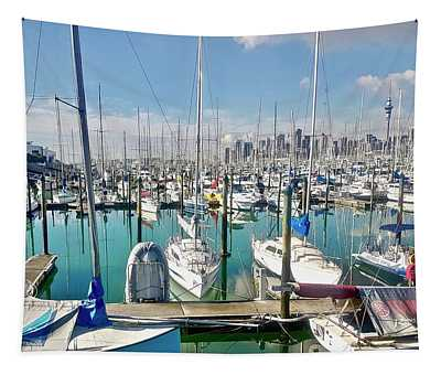 Westhave Marina Auckland Cbd Tapestry