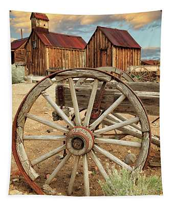 Wheels And Spokes In Color Tapestry