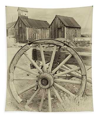 Wheels And Spokes Tapestry