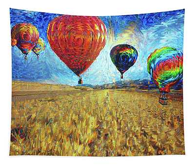 When The Sky Blooms Tapestry