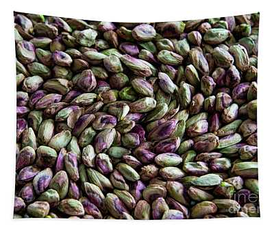Tapestry featuring the photograph Whirling Pistachios by Mae Wertz