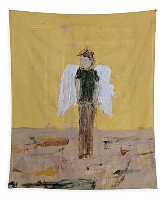 Whistling Angel Tapestry