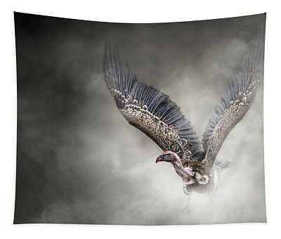 White-backed Vulture - In The Dust Tapestry