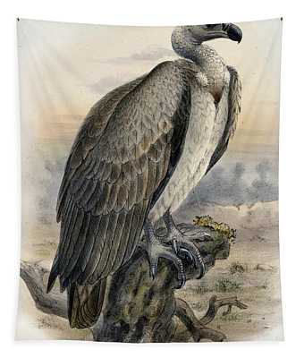 White-backed Vulture Tapestry