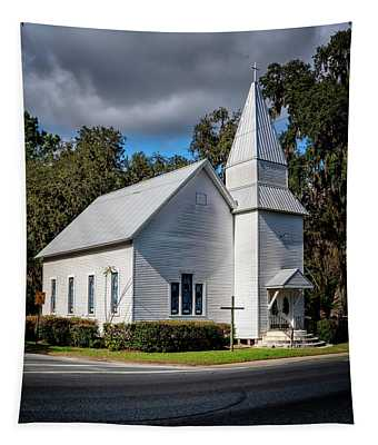 White Church Tapestry