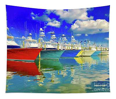 White Marlin Open 2018 Tapestry