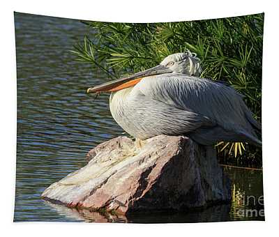 White Pelican Tapestry