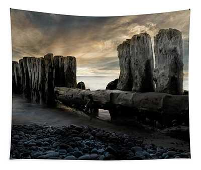 Whitefish Point Michigan Breakers Tapestry