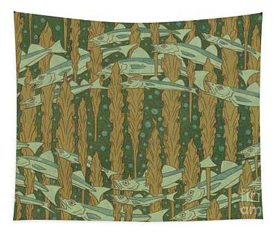 Whiting And Seaweed Tapestry