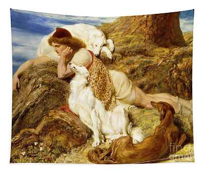 Why Should Our Young Endymion Pine Away Tapestry