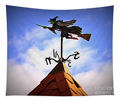 Wicked Weathervane Tapestry