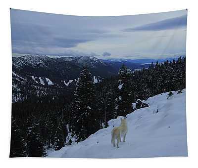 Wild In Winter Tapestry