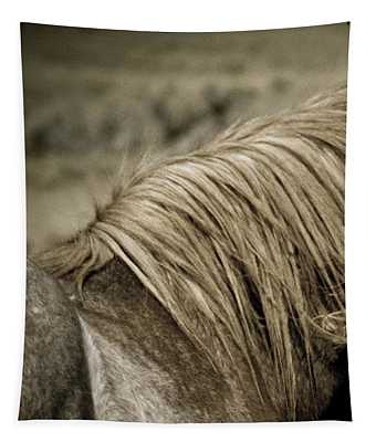 Wild Mustangs Of New Mexico 13  Tapestry