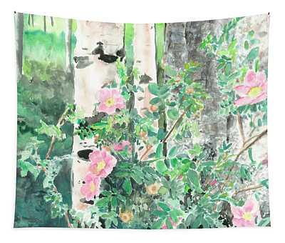 Wild Rose Tapestry