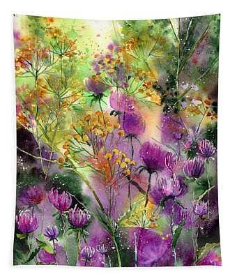 Wild Tansy Tapestry