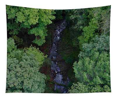 Willow Run Creek Tapestry